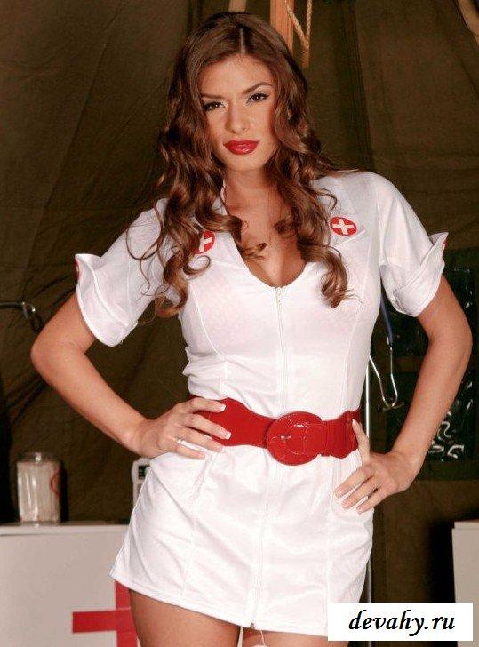 Порно Медсестра Лечит